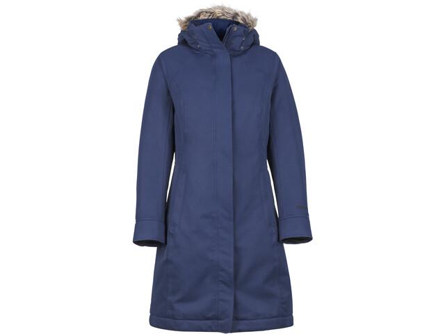 Marmot Chelsea - Chaqueta Mujer - azul  290cfaf85ee8f